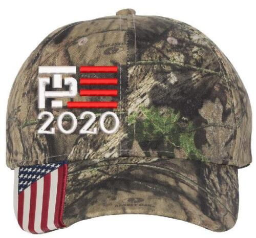 Trump Pence 2020 Adjustable Mossy Oak Country Girl Hat with Free Shipping