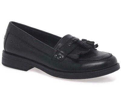 Geox Agata Tassel Leather Girls School