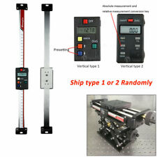 Lcd Display Linear Scale Vertical Digital Readout 100600mm Milling Lathe Bench