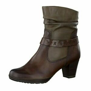 Details about Marco Tozzi Women ´S Ankle Boots Braun 22542123