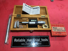 Mitutoyo Intrimik Bore Holtest Inside Micrometer 5 To 8 In With2 Ring Machinist
