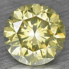 0.79 Cts CLASSIC UNTREATED TOP RARE GREENISH YELLOW COLOR NATURAL LOOSE DIAMONDS