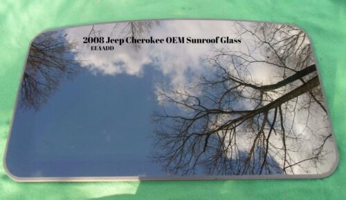 2008 JEEP CHEROKEE  YEAR SPECIFIC OEM FACTORY SUNROOF GLASS  FREE SHIPPING