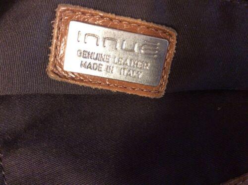 INNUE ITALIAN BROWN Leather and Calf Hair Satchel Handbag -  59.00 ... 129e68126035d