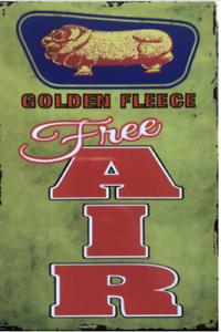 Golden-Fleece-Oil-Rustic-Vintage-Metal-Tin-Sign