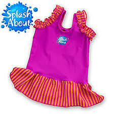 Splash About Frou Frou Pink Baby Swimming Top size Medium