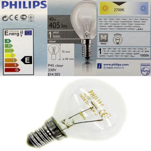 1 von 1 - 10 x Philips Glühbirne 40 Watt E14 klar Glühlampe Glühbirnen Tropfenform