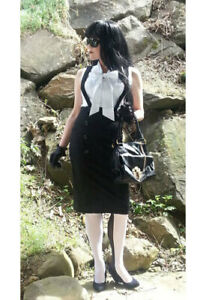 Suspender-Wiggle-Skirt-High-Waisted-Plus-size-18-to-28