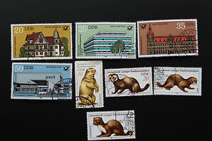 Stamp-Germany-Rda-yt-N-2326-IN-2329-And-2330-2333-Obl-Cyn14