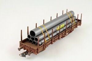 Ladegueter-Bauer-H01208-verguetete-Stahlroehren-Ladegut-Spur-H0-1-87-Stahl