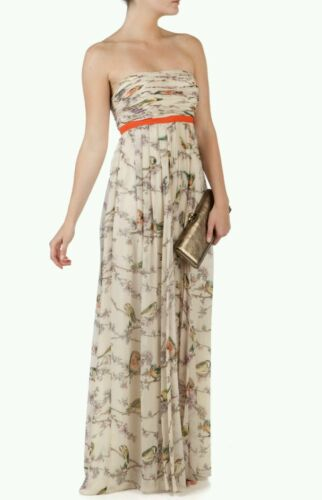 US 8 . Ted Baker FLORAH Maxi Dress Size 3