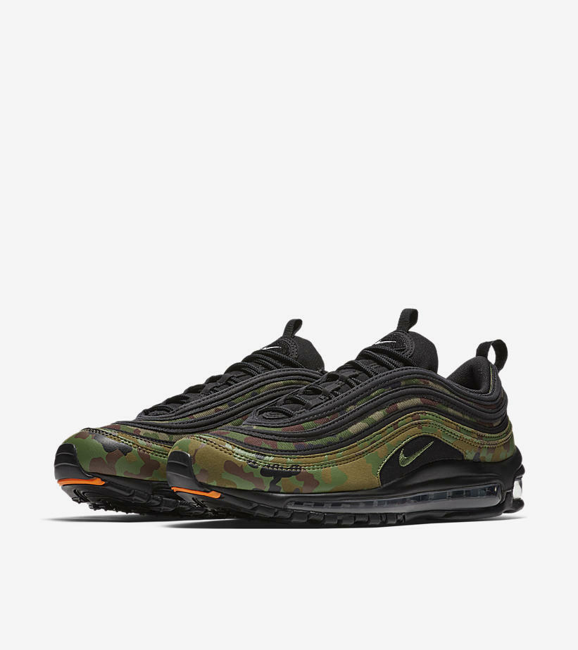 NIKE AIR MAX 97 PREMIUM QS JAPAN CAMO GLOBAL FORCE JAPAN EXCLUSIVE SIZE US8 US9
