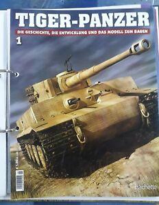 Tiger Panzer//Modellbau//Hachette//Nr.6//OVP//Kein Spielzeug!//Maßstab 1:16//K ab 10+