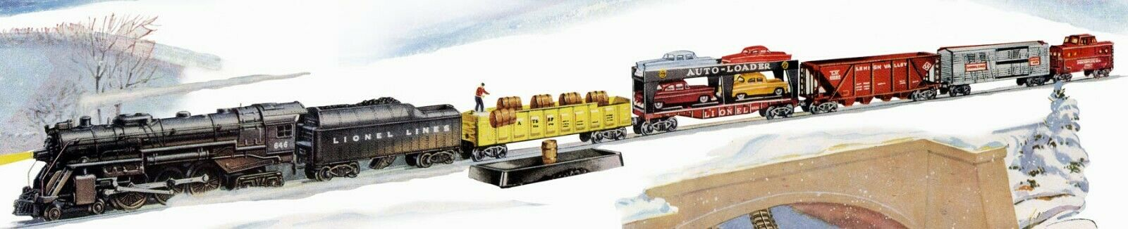 Lionel 638329 Lionel  2261W Freight Hauler Ssquadra set.  Bre nuovo from dealer