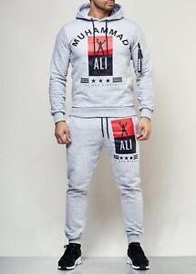 Muhammad-Ali-Sportanzug-Herren-Jogginganzug-Trainigsanzug-Sweatshirt-Jogginpants