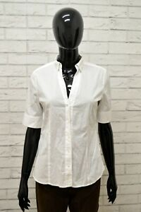 Camicia-MARC-O-039-POLO-Donna-Taglia-36-S-Maglia-Blusa-Shirt-Woman-Elastico-Bianco