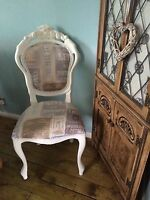 **SALE**Louis French Shabby Chic Bedroom/Lounge Dinning Chair/Bathroom