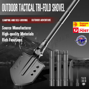 Folding-Shovel-Camping-Survival-Multi-Tools-Knife-Axe-Saw-Outdoor-Military-AU