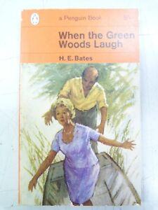 H-E-Bates-When-the-Green-Woods-Laugh-penguin-1963-paperback