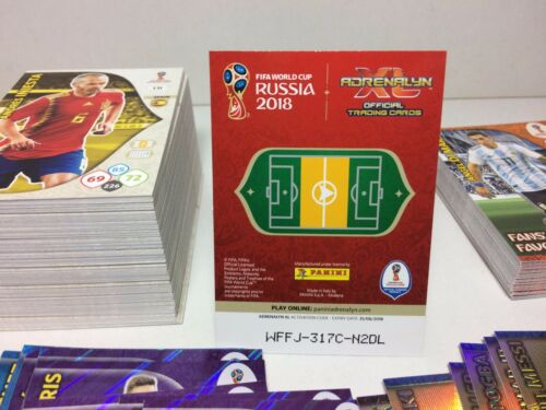 WC RUSSIA 2018 Panini Adrenalyn-Card Limited Edition Brasil-SAEVARSSON ICELAND