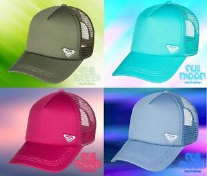 New-Roxy-Finishline-Womens-Snapback-Trucker-Cap-Hat