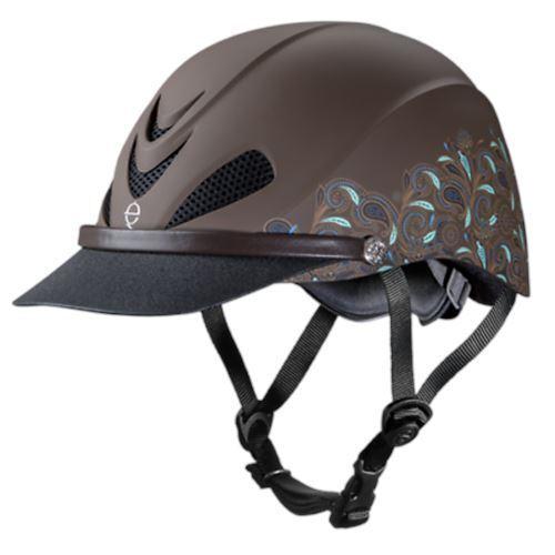 Troxel Dakota Horse Riding Helmet Extended Visor Lightweight Trail Riding