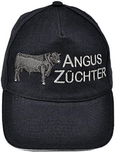 Baseball Cap capuchon bonne nuit de BOVINS VACHE braunvieh Zuechter Angus élevage bovin 69740