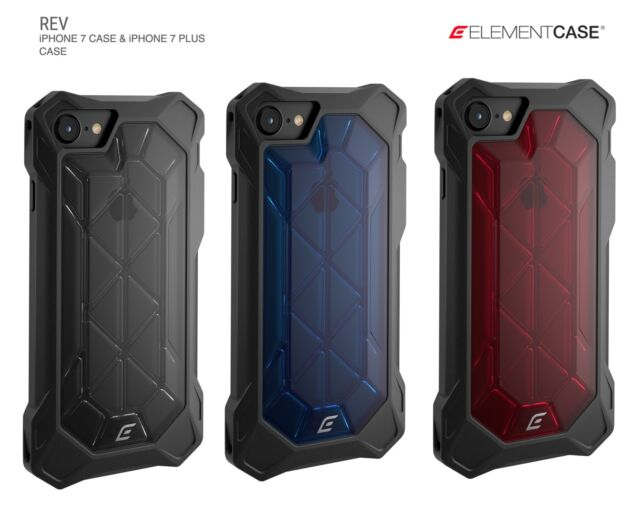 premium selection c760b 3c684 Element Case REV for iPhone 8/8+ & 7/7+ Case - DROPSHOCK CORNERS w/XFRAM  CHASSIS