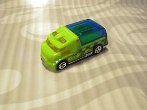 2014-HOTWHEELS-039-039-LOOSE-039-039-RAPID-RESPONSE-GREEN-ambulance
