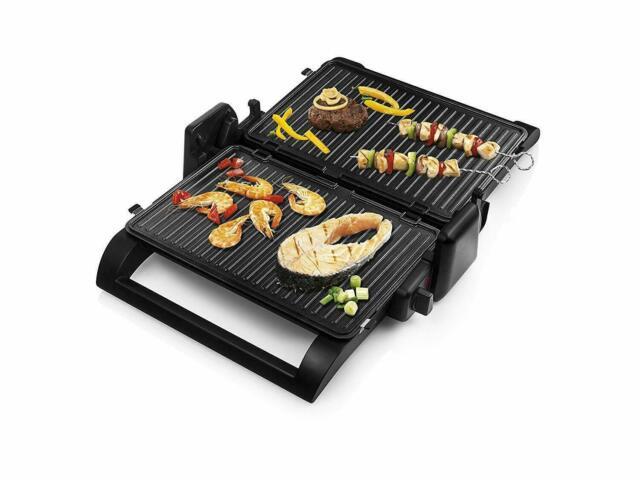 Princess Multi Grill 4 IN 1 Sandwich Press Removable Plates 1500 W Twin Plug