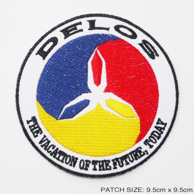 WESTWORLD / FUTUREWORLD - Cool DELOS Logo Movie Patch