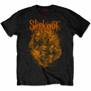 Official-Slipknot-T-Shirt-We-Are-Not-Your-Kind-Orange-Black-Rock-Metal-Tee-WANYK