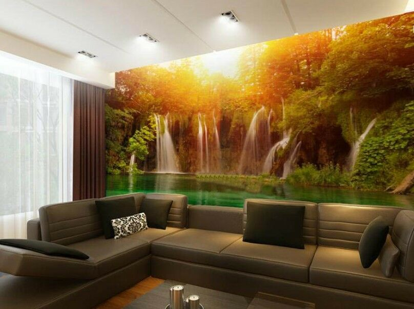 3D Sun Valley piscina 2574 2574 2574 Papel Pared Imprimir Pared Calcomanía Pared Deco interior murales 476612