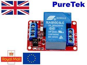 Detalles De 3 3v 5v 16a Módulo De Relés Para Arduino Nano Debido Raspberry Pi Esp8266 Optoacoplador Ver Título Original