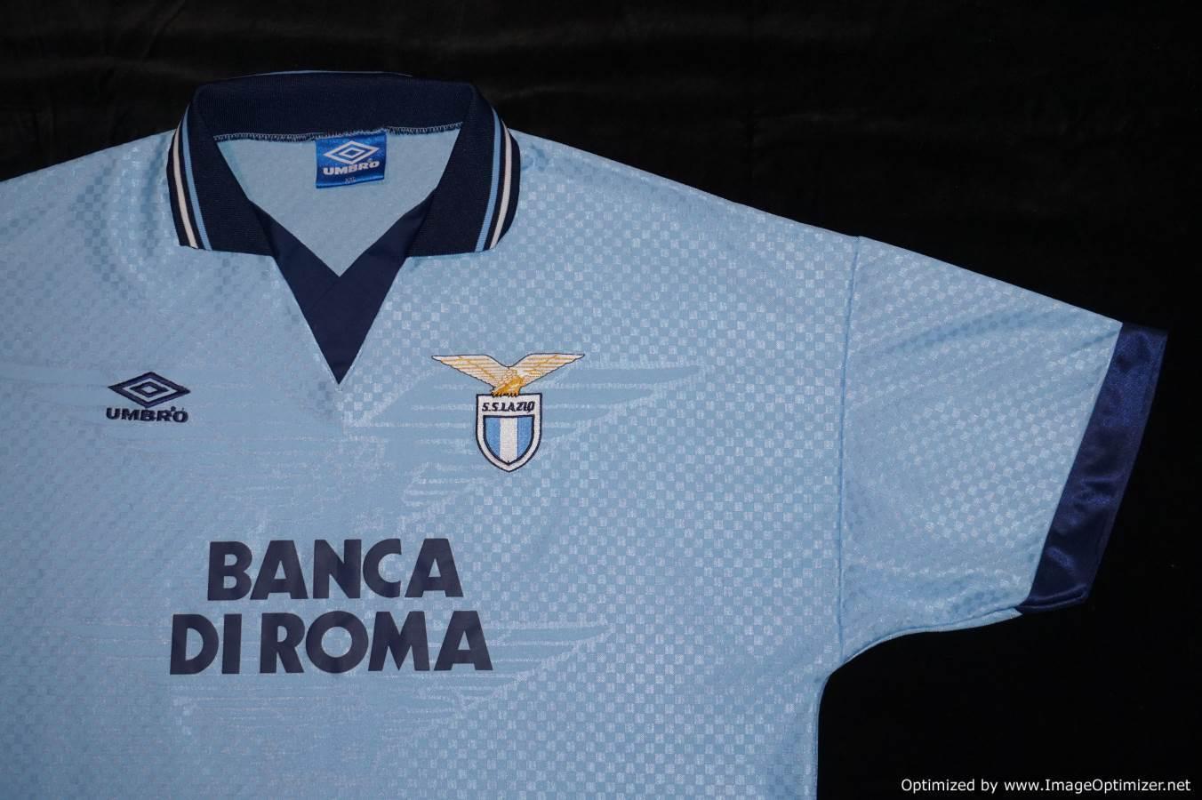Lazio Umbro Home Home Umbro 1995-1996 Fußball Trikot XXL XXL 69d786