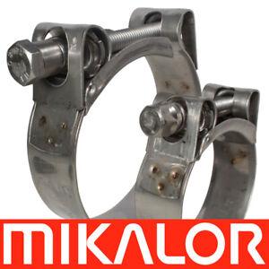 /63/mm Mikalor W2/Supra resistente acciaio INOX t-bolt fascetta 1/x 59/mm/