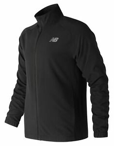 New-Balance-Men-039-s-Tenacity-Woven-Jacket-Black