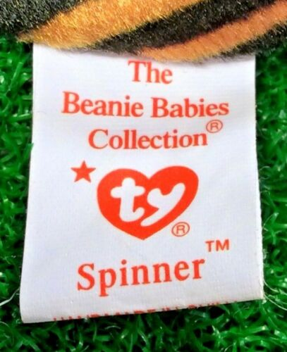 MWMT Ty Beanie Baby Spinner The Spider Retired PE Spider Plush Toy FREE Shipping