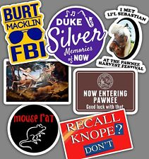 Best of Parks and Rec Stickers - Parks and Recreation - MADE IN USA