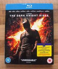 BATMAN - THE DARK KNIGHT RISES 2 DISC BLU-RAY EDITION Inc OUTER SLEEVE SLIP CASE