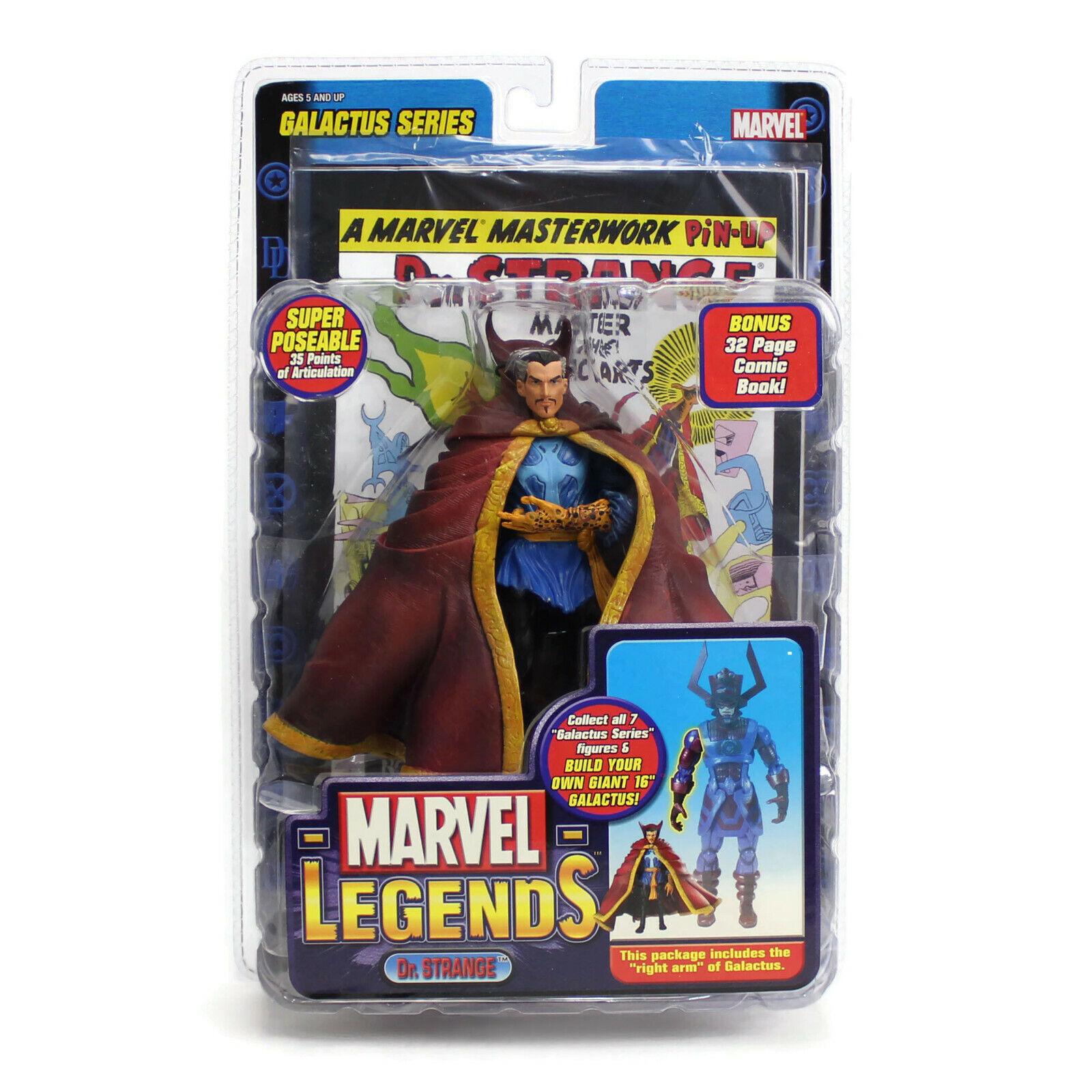 Marvel Leyendas   Dr Strange   6    Figura Baf Galactus Series   2005 Sellado Nuevo