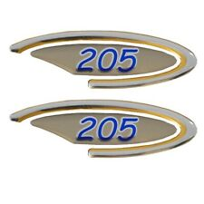 Sea Ray 1641323 220 Foam Filled Boat Decal Pair