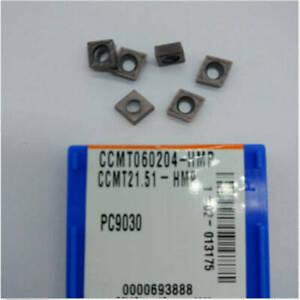 KORLOY CCMT431-HMP PC9030 CCMT120404-HMP PC9030 Carbide inserts 10Pcs