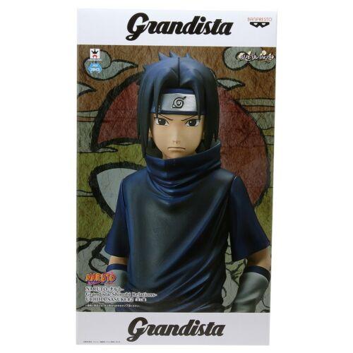 Banpresto Naruto Shippuden Grandista Uchiha Sasuke Ver.2 Figure