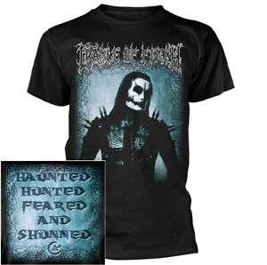 Cradle-Of-Filth-Haunted-Hunted-Feared-Shunned-Shirt-S-XXL-Ofcl-T-Shirt-Tshirt