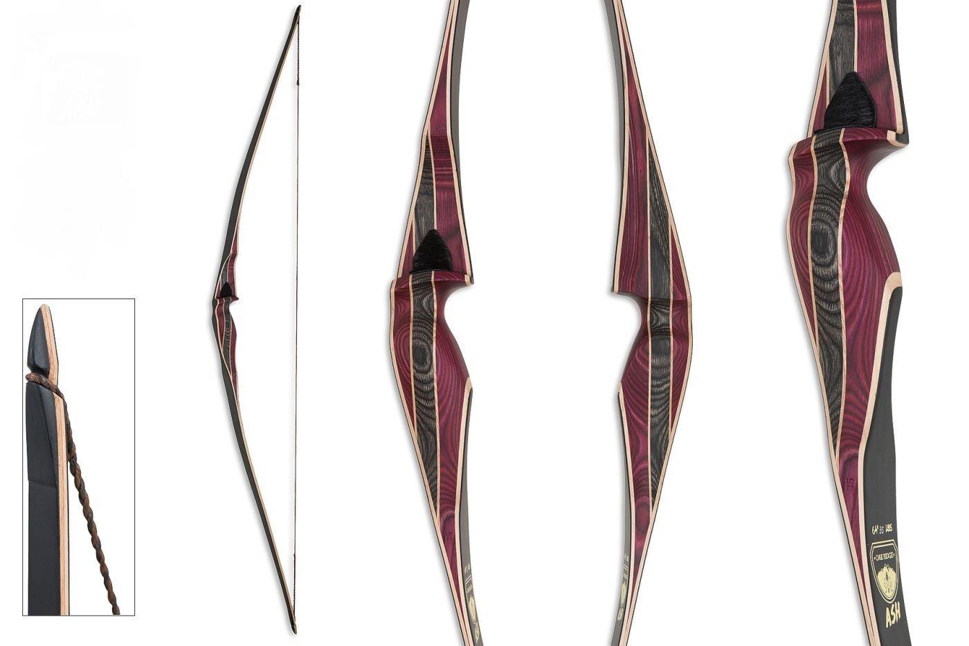 Longbow Traditional Bow oakt Ridge Ash 30, 35, 40 lbs Right Hand