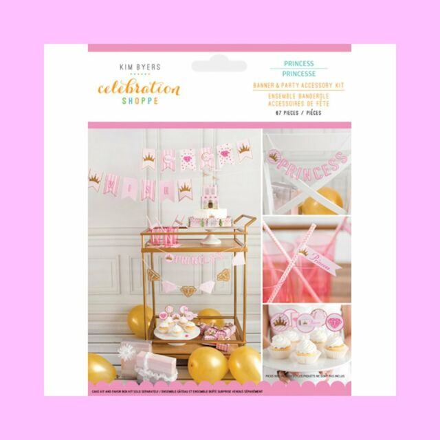 67 piece Princess Cake Decorating Kit - For Birthday or Baby Shower - FREE SHIP