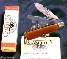 Camillus Electricians Utility Knife S.C.C. 204 Inscribed Main Blade W/Box,Papers