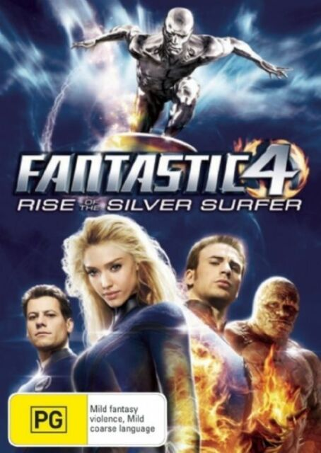 Fantastic Four - The Silver Surfer (DVD, 2007)