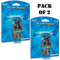 Pack Of (2) Playmo-friends 6822 Caribbean Pirate Ages 4-10 on Sale